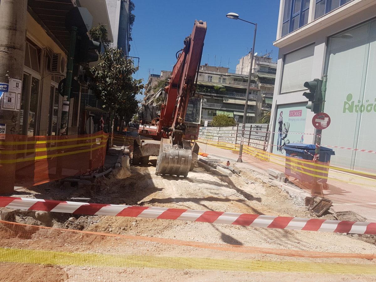 Λάρισα: Κλείνει τμήμα της οδού Ηπείρου για ένα μήνα