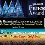 Λαρισαίος personal trainer υποψήφιος για το Παγκόσμιο Βραβείο Επαγγελματιών Fitness