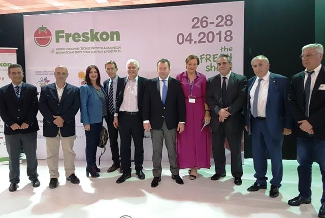 Στην Έκθεση Freskon 2018 ο υφυπουργός Β. Κόκκαλης