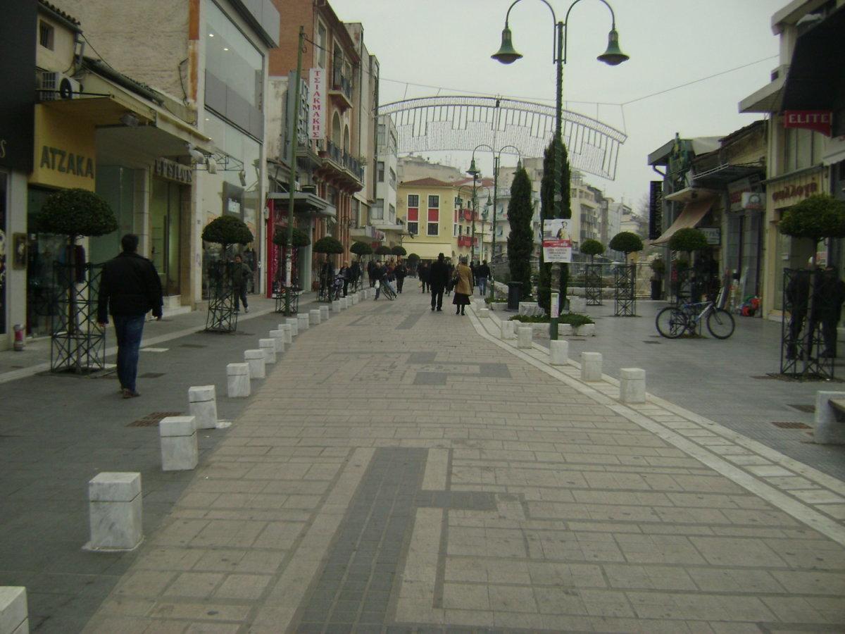 «Ξαναζωντανεύει» η ιδέα για «Οpen Mall» στη Λάρισα
