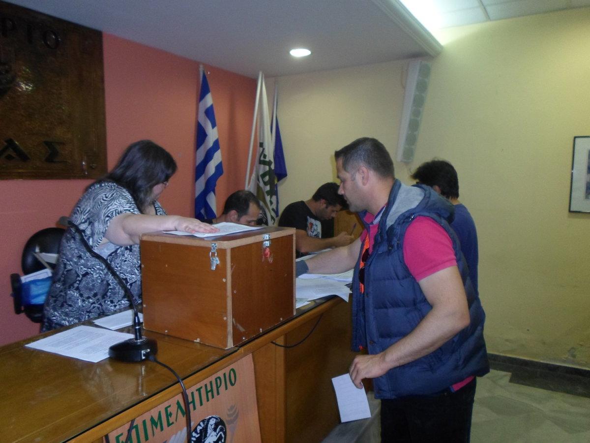 Αποτελέσματα εκλογών Κυνηγετικού Συλλόγου Λάρισας