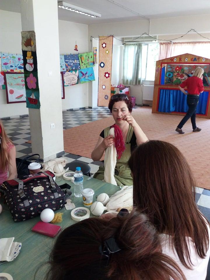 Ο Τιριτόμπα εκπαιδεύει… στο πλαίσιο του 4ου Φεστιβάλ Κουκλοθεάτρου