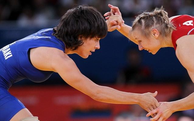 Χάλκινο μετάλλιο στο Ευρωπαϊκό της πάλης η Πρεβολαράκη