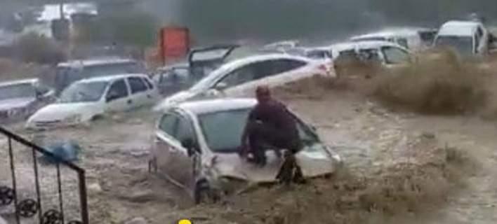Καταστροφικές πλημμύρες στην Άγκυρα (βίντεο)