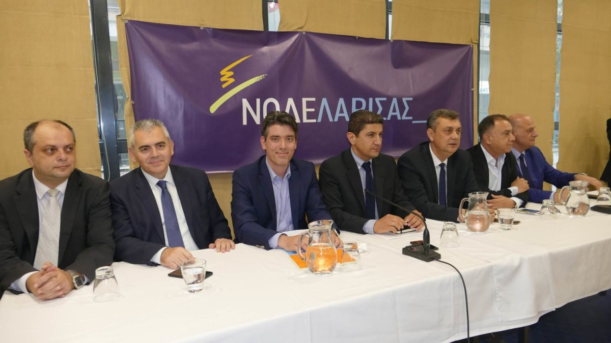 Aυγενάκης: Η ΝΔ θα κάνει πράξη ότι πει (φωτ.)