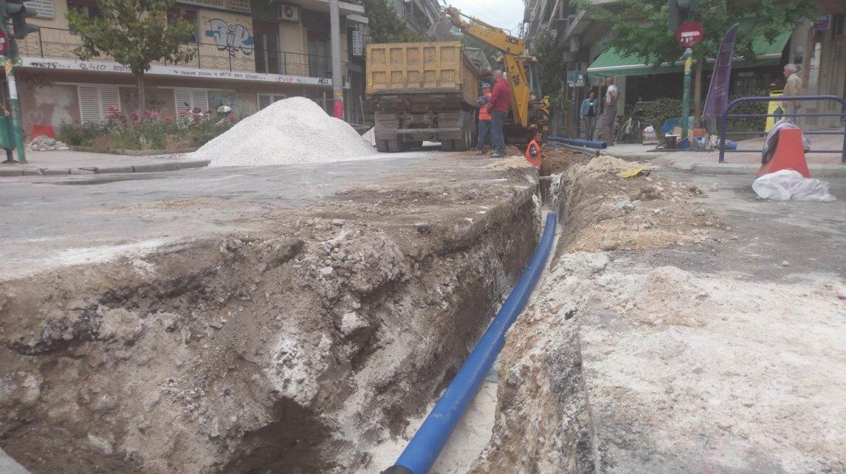 Από σήμερα κλείνει τμήμα της οδού Μανδηλαρά λόγω έργων