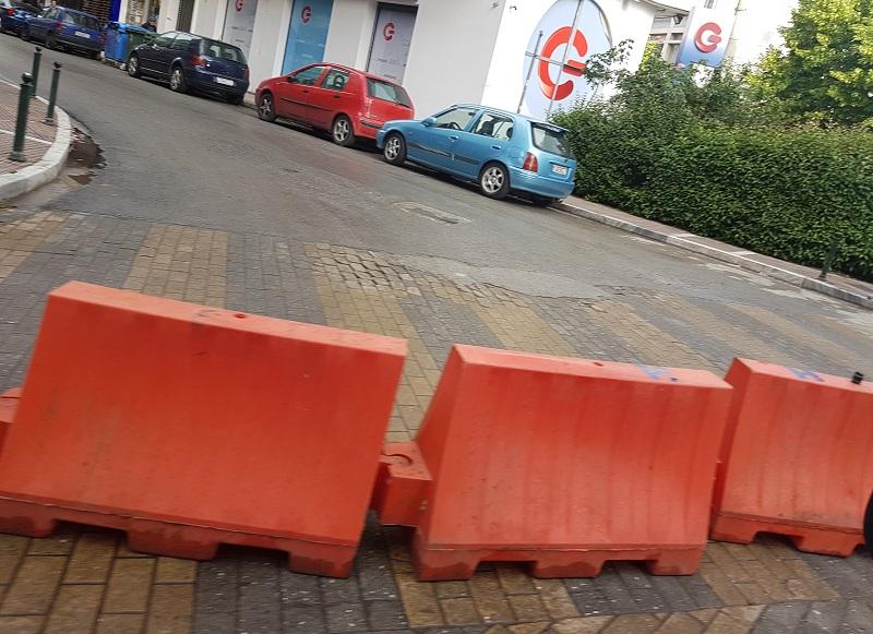 Λάρισα: Κλείνει από σήμερα τμήμα της οδού Μανδηλαρά