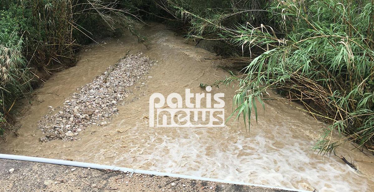 Μεγάλες καταστροφές σε περιοχές του ν. Ηλείας μετά τις βροχοπτώσεις (φωτ.)