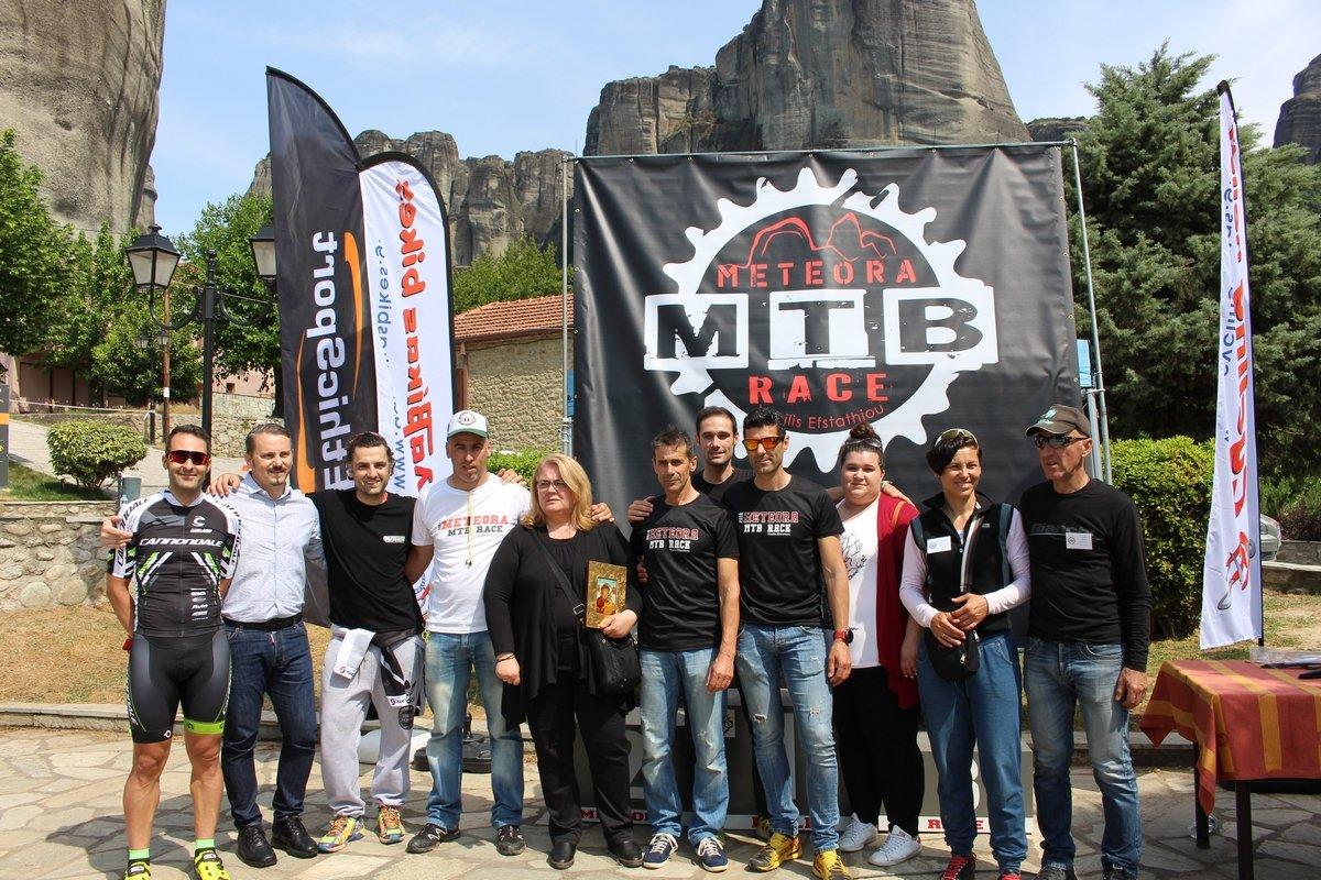 Επιτυχημένο και το «3rd Meteora MTB race 2018- Βασίλης Ευσταθίου»
