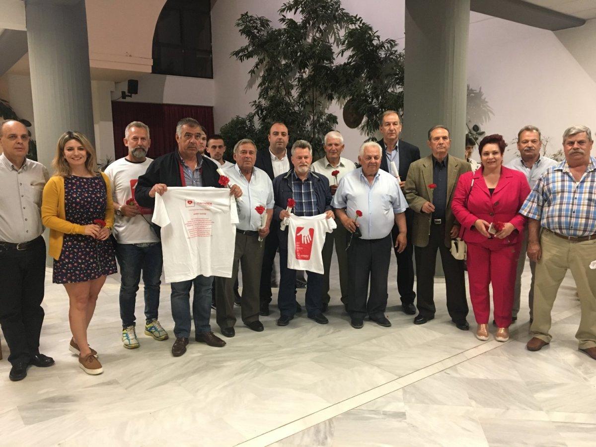 Βραβεύτηκαν Γοννιώτες εθελοντές αιμοδότες