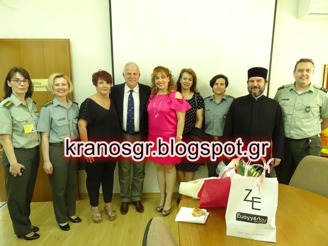 Αντισυνταγματάρχης (ΥΝ) ορκίζεται Καθηγήτρια του ΑΤΕΙ Λάρισας
