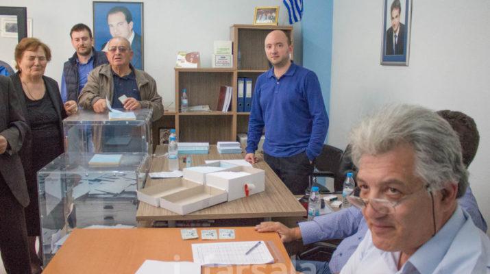 Φάρσαλα: Μεγάλη συμμετοχή στις εκλογές της ΝΔ (φωτ.)