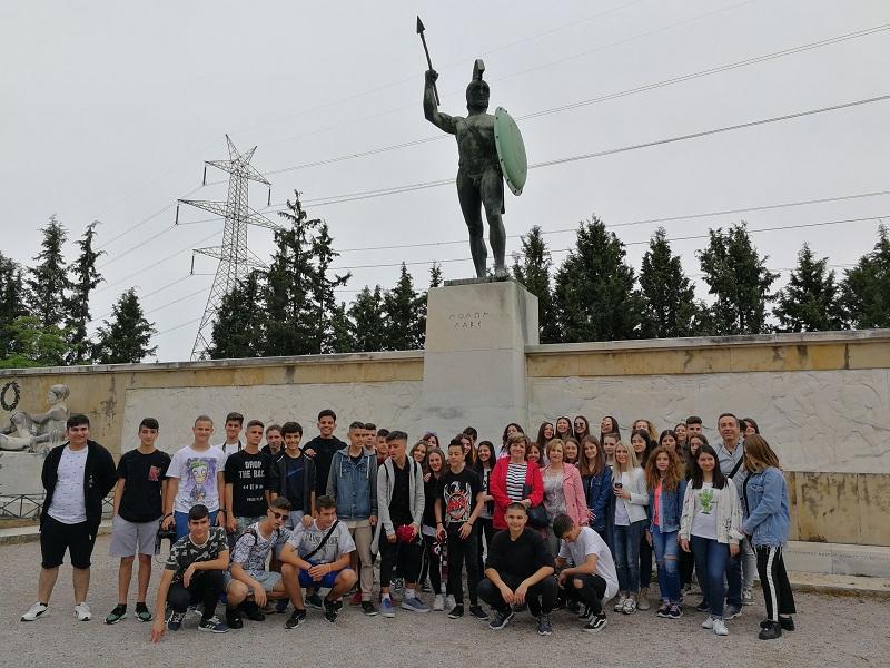 Το 9ο Γυμνάσιο Λάρισας σε Ναύπλιο, Ύδρα και Σπέτσες