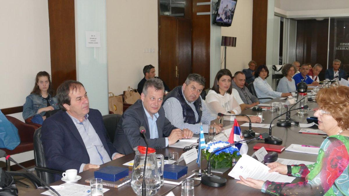 Με στόχο την εξαγωγή προϊόντων από τη Λάρισα στη Σερβία