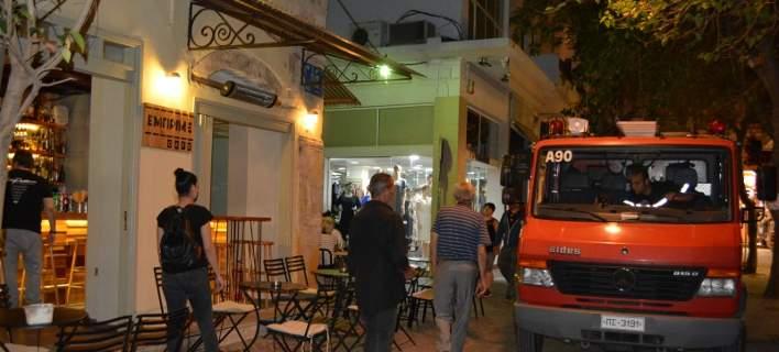 Έκρηξη σε εστιατόριο στα Χανιά-Δύο τραυματίες