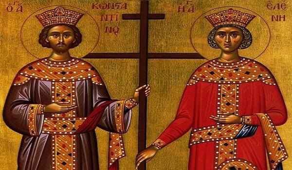 Τιμούν τους Αγίους Κωνσταντίνο και Ελένη στο Αρμένιο