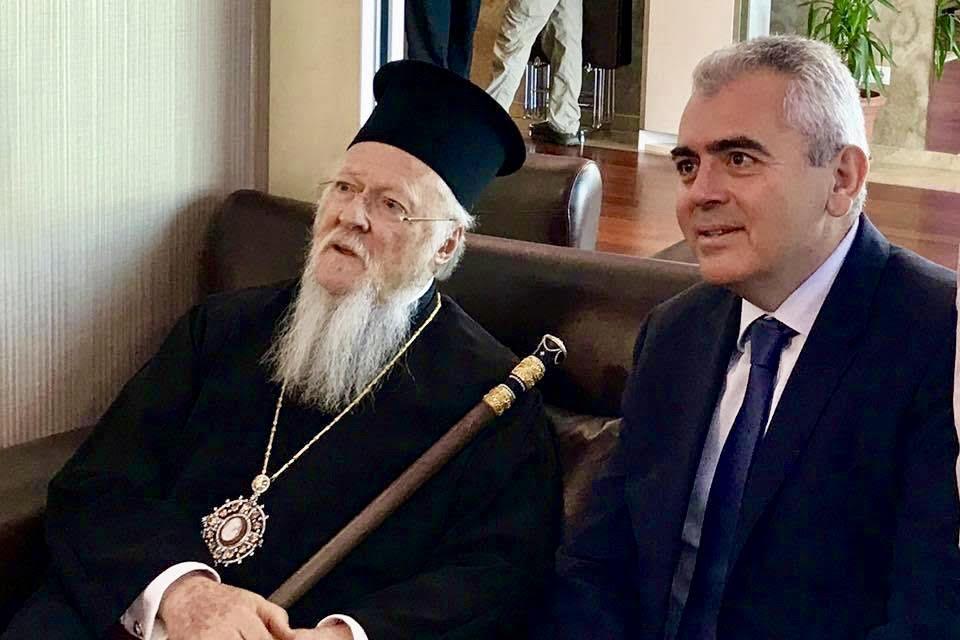 Στην Καππαδοκία ο Μάξιμος Χαρακόπουλος