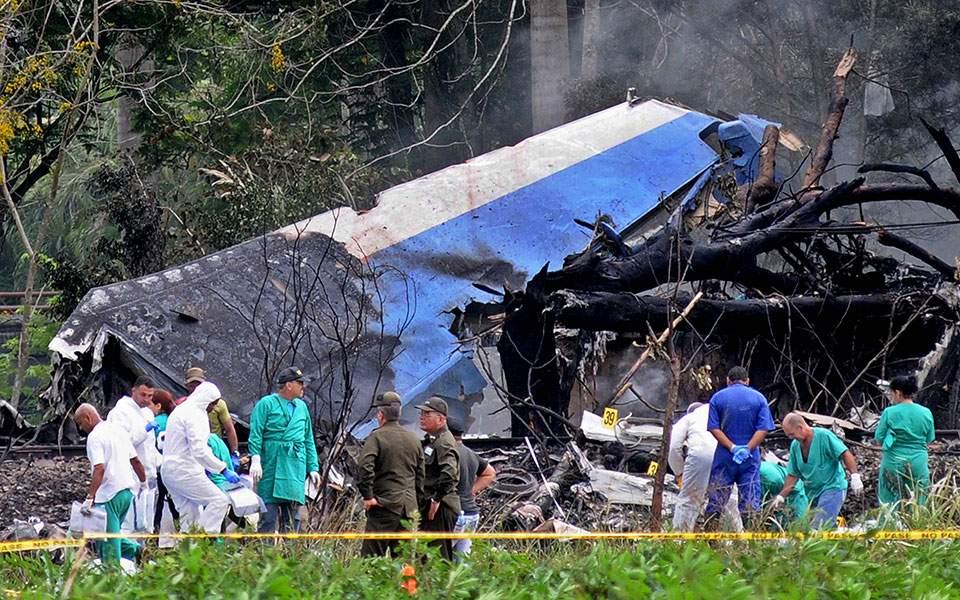 Αεροπορική τραγωδία με 108 νεκρούς στην Κούβα (φωτ.)
