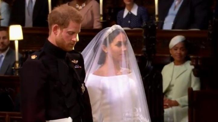 Σε εξέλιξη ο γάμος του πρίγκιπα Χάρι με την Μέγκαν
