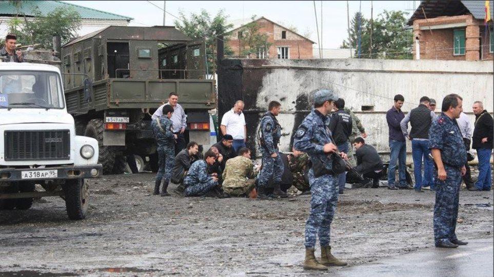Τρομοκρατική επίθεση με επτά νεκρούς στην Τσετσενία