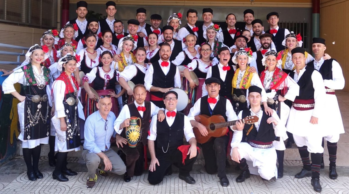 Το Λύκειο των Ελληνίδων της Λάρισας στην Ισπανία (φωτ.)
