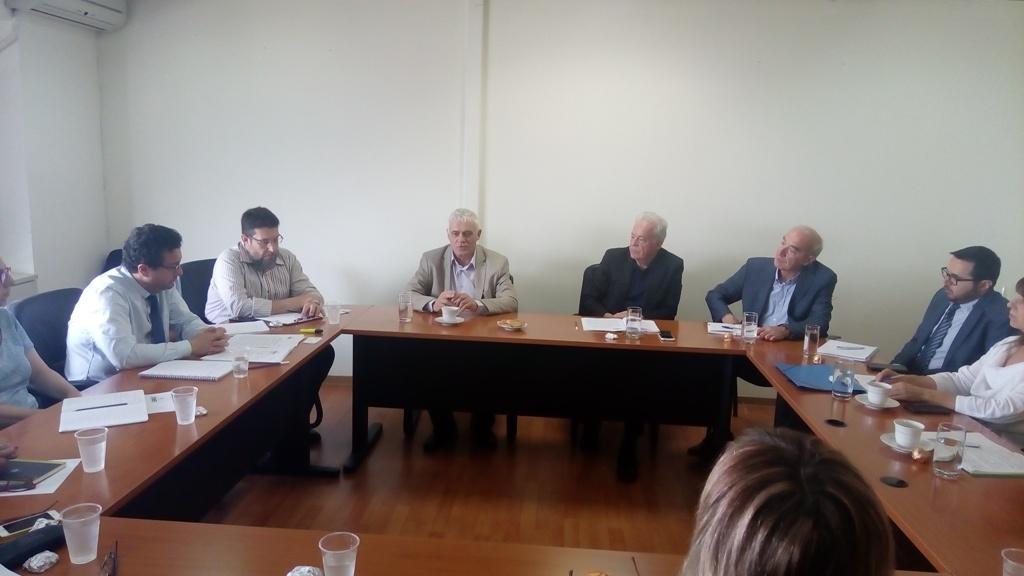 Συνάντηση Τσιρώνη με τον ΕΦΕΤ για την προστασία της αυθεντικότητας της φέτας