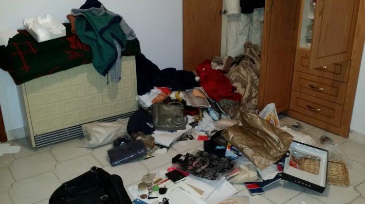 Θρασύτατη διάρρηξη σε σπίτι στα Τρίκαλα (φωτ.)