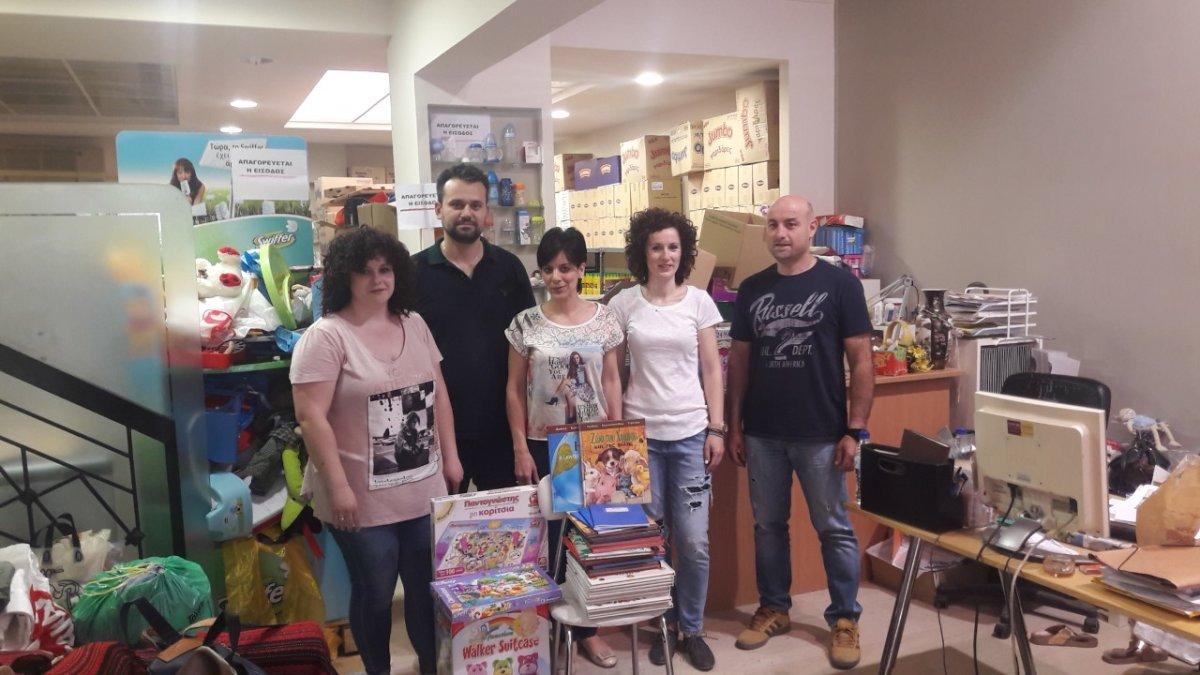 Προσφορά παιχνιδιών στο Κοινωνικό Παντοπωλείο του Δήμου Λαρισαίων