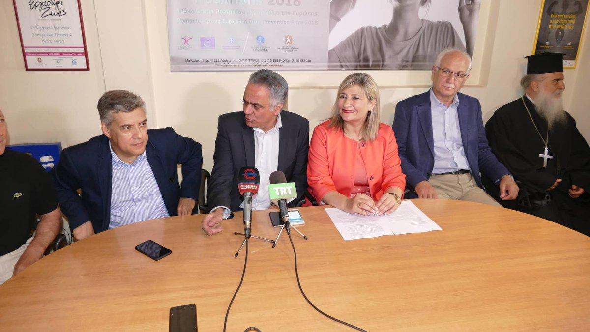 Στήριξη στο «στοίχημα» του Κέντρου Πρόληψης Λάρισας
