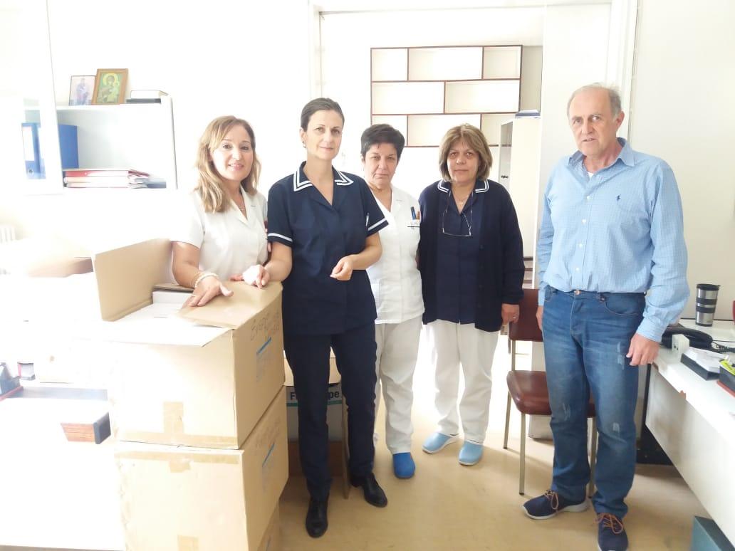 Διάθεση ιατρικού υλικού από τους ΕΝΠΟΛ Λάρισας