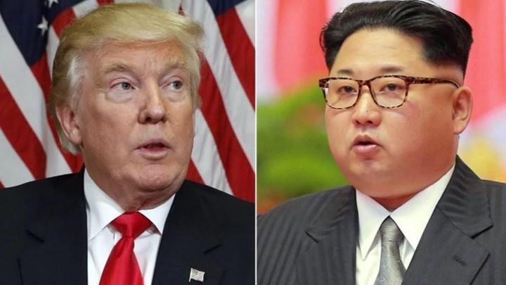 O Τραμπ «τίναξε στον αέρα» το ραντεβού του με τον Κιμ Γιονγκ Ουν