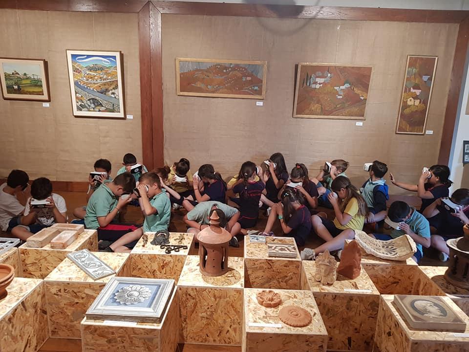 Παράταση Virtual Reality δράσων για σχολεία στο Λαογραφικό