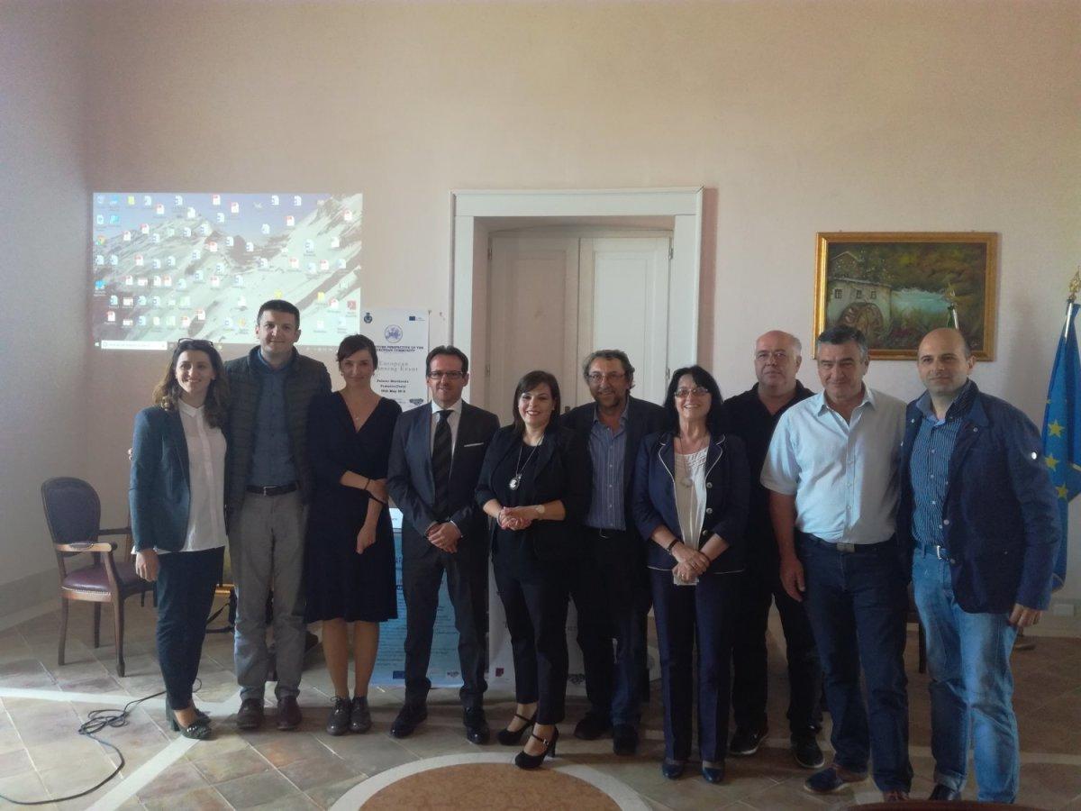 Αντιπροσωπεία του Δ. Λαρισαίων στην Ιταλία