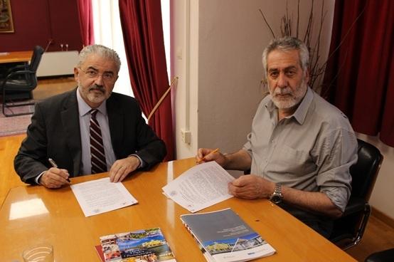 Μνημόνιο συνεργασίας μεταξύ του Δήμου Αλμυρού και του Πανεπιστημίου