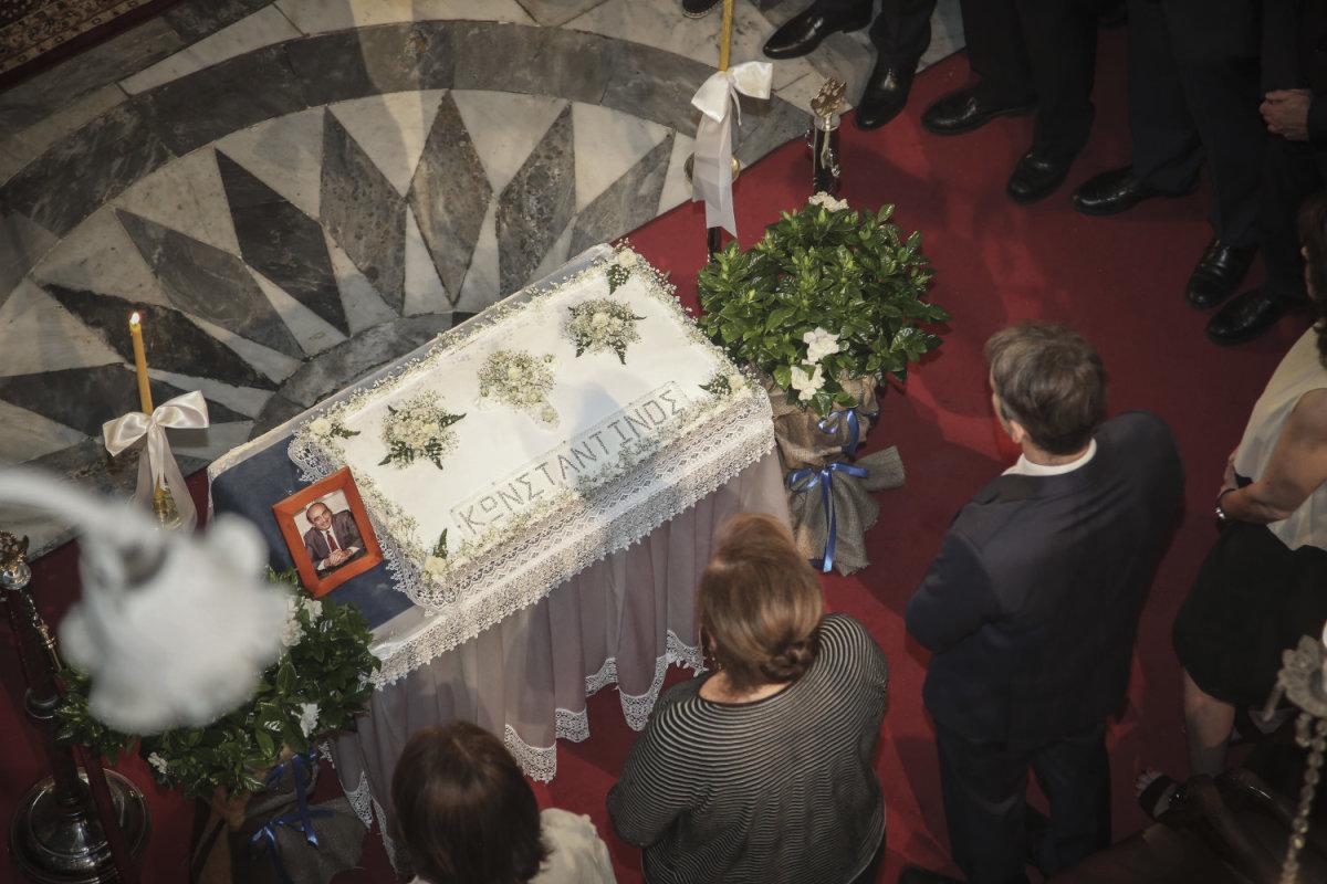 Μνήμες και συγκίνηση στο ετήσιο μνημόσυνο του Κων. Μητσοτάκη