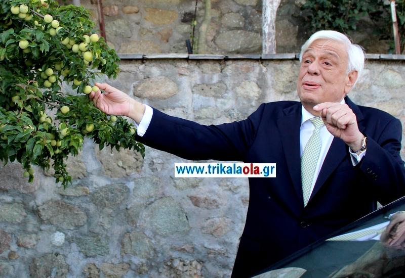 Θυμήθηκε τα παιδικά του χρόνια στην Καλαμπάκα ο Πρ. Παυλόπουλος