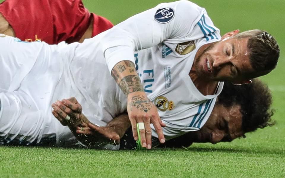 Η απάντηση του Ράμος για τον τραυματισμό του Σαλάχ στον τελικό του Champions League