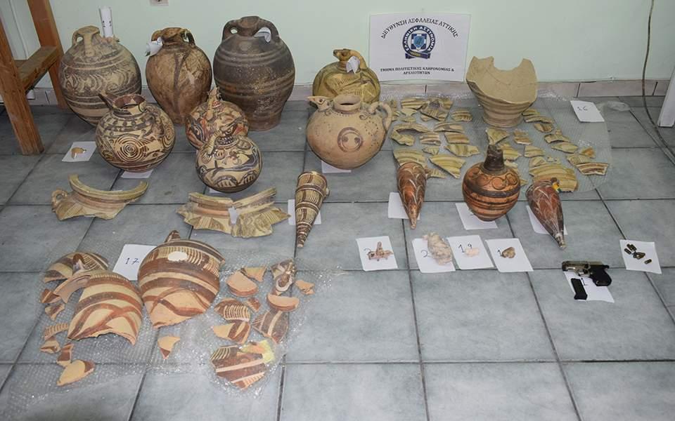 Νυχτοφύλακας έκλεβε αρχαία αντικείμενα αξίας από το Μουσείο Σαντορίνης
