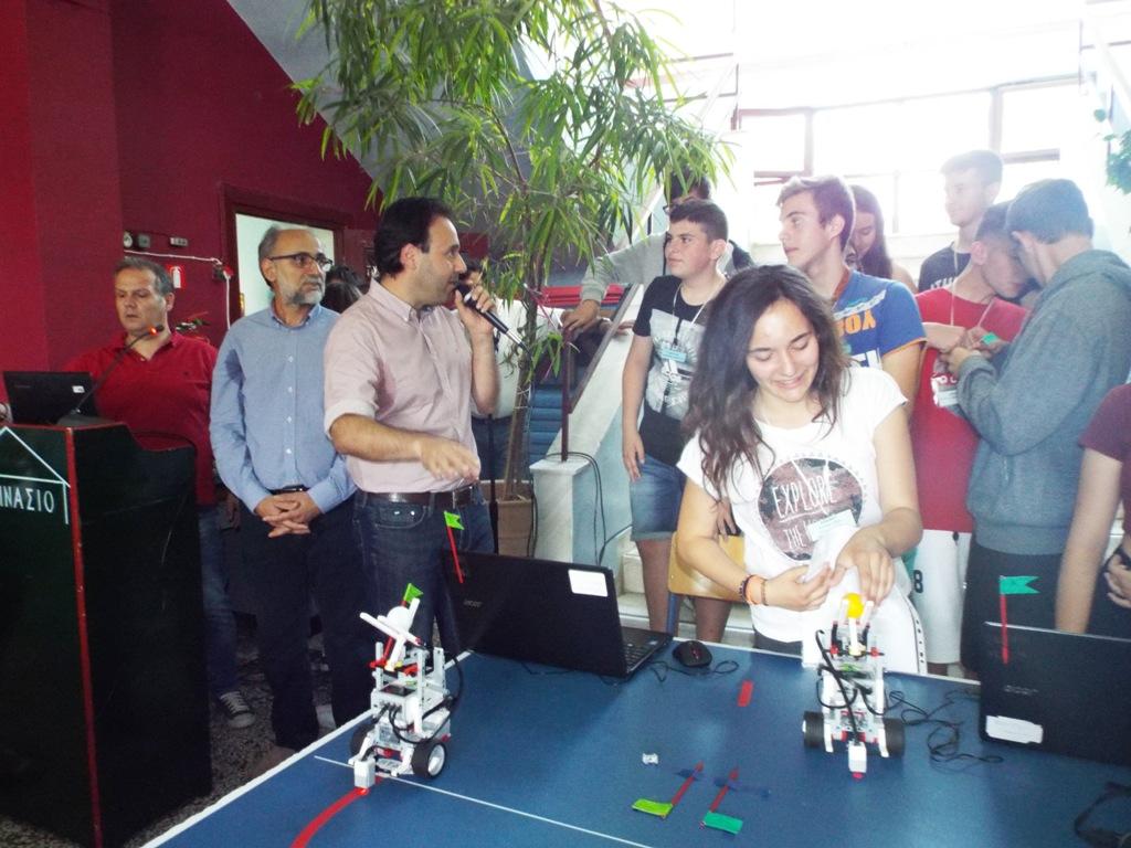 Μπάσκετ με ρομπότ στα Τρίκαλα!