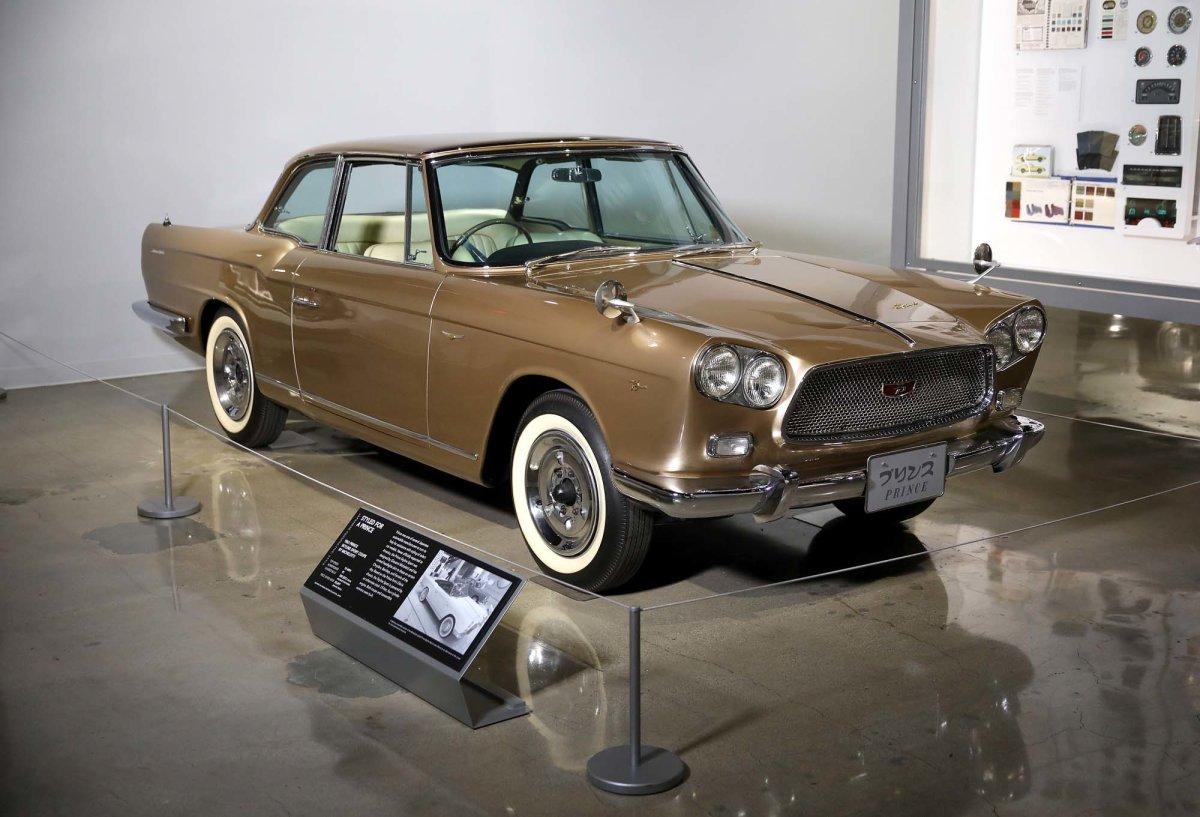 H Nissan στην έκθεση Ιαπωνικών ιστορικών αυτοκινήτων, στο Μουσείο Αυτοκινήτου του Petersen