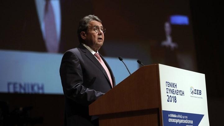 Γκάμπριελ: Αναγκαία η ρύθμιση του χρέους με βάση τη γαλλική πρόταση