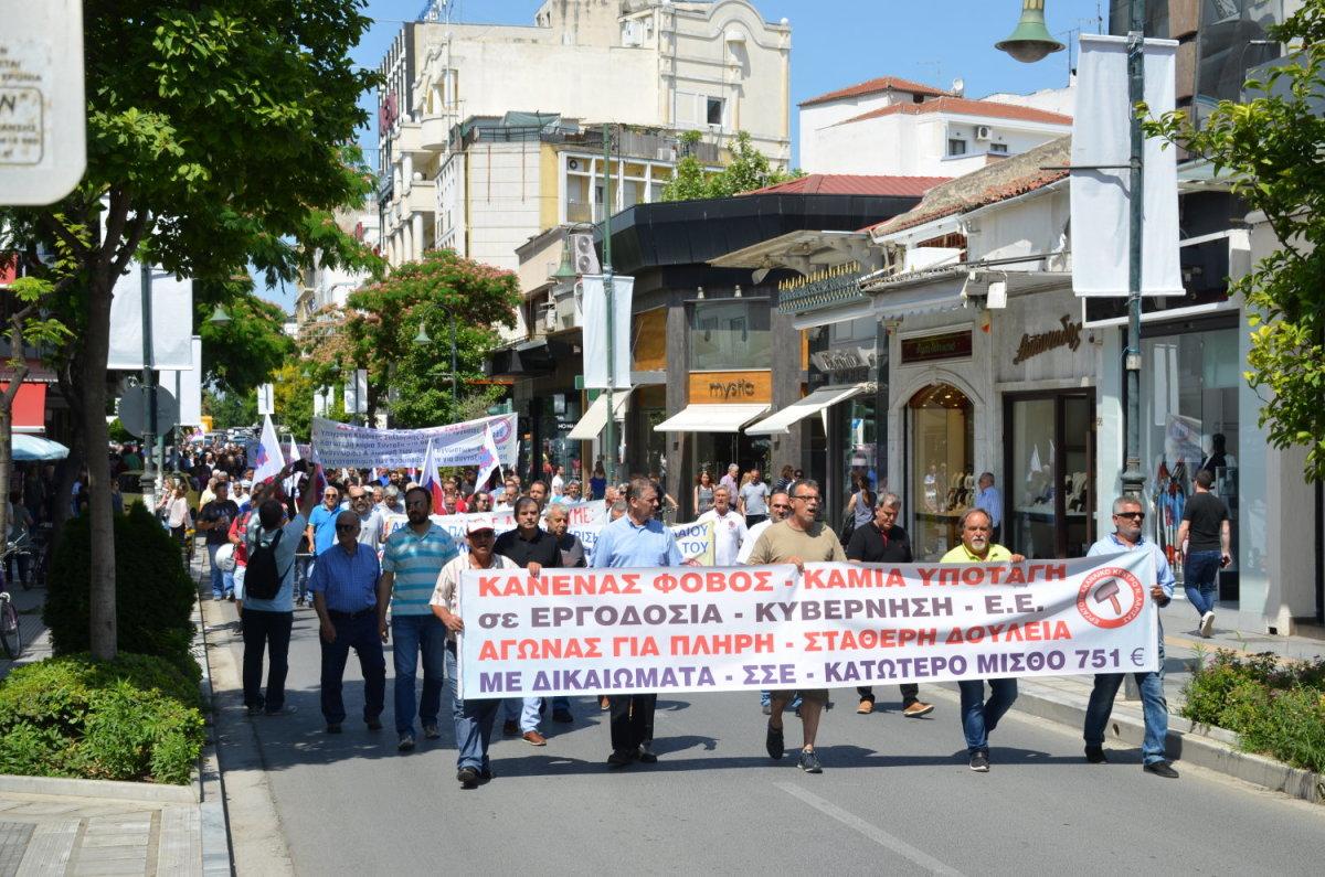Το ΕΚΛ χαιρετίζει την παρουσία των απεργών