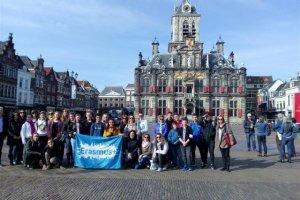 Το 2ο Γυμνάσιο Φαρσάλων στην Ολλανδία