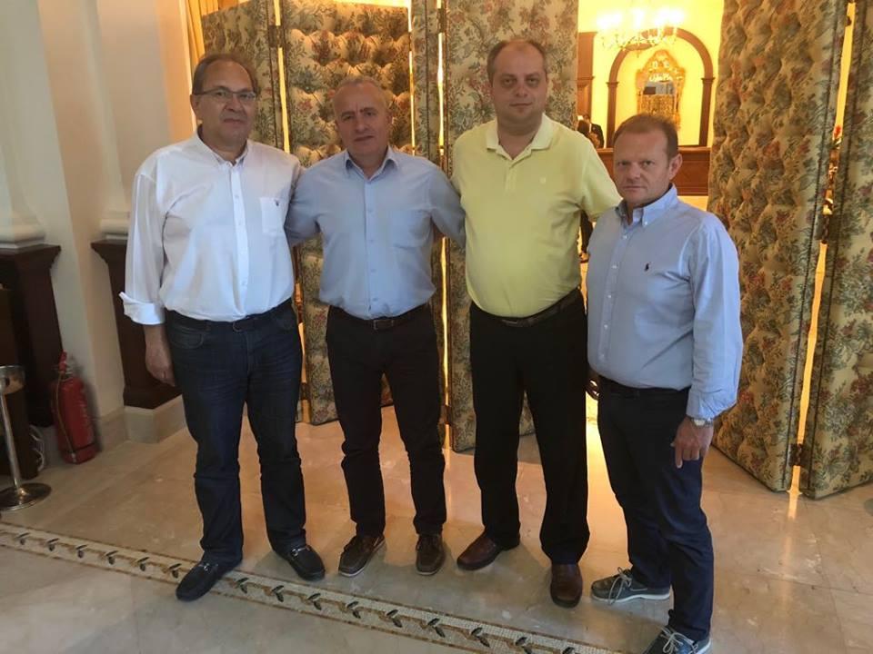 Συνάντηση των 4 Προέδρων των ΝΟ.Δ.Ε. της Θεσσαλίας