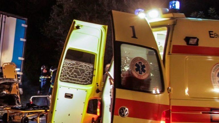 Το αυτοκίνητο έπεσε στην ελιά – Στο νοσοκομείο δύο νεαροί