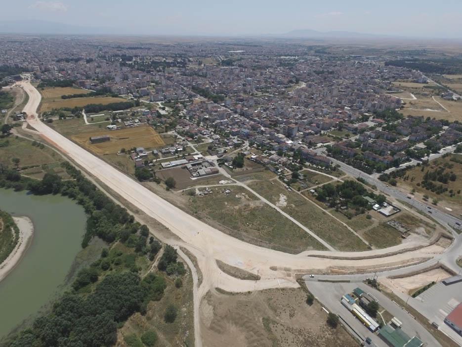 Λάρισα: Το νέο υπό κατασκευή τμήμα του Περιφερειακού (φωτ.)
