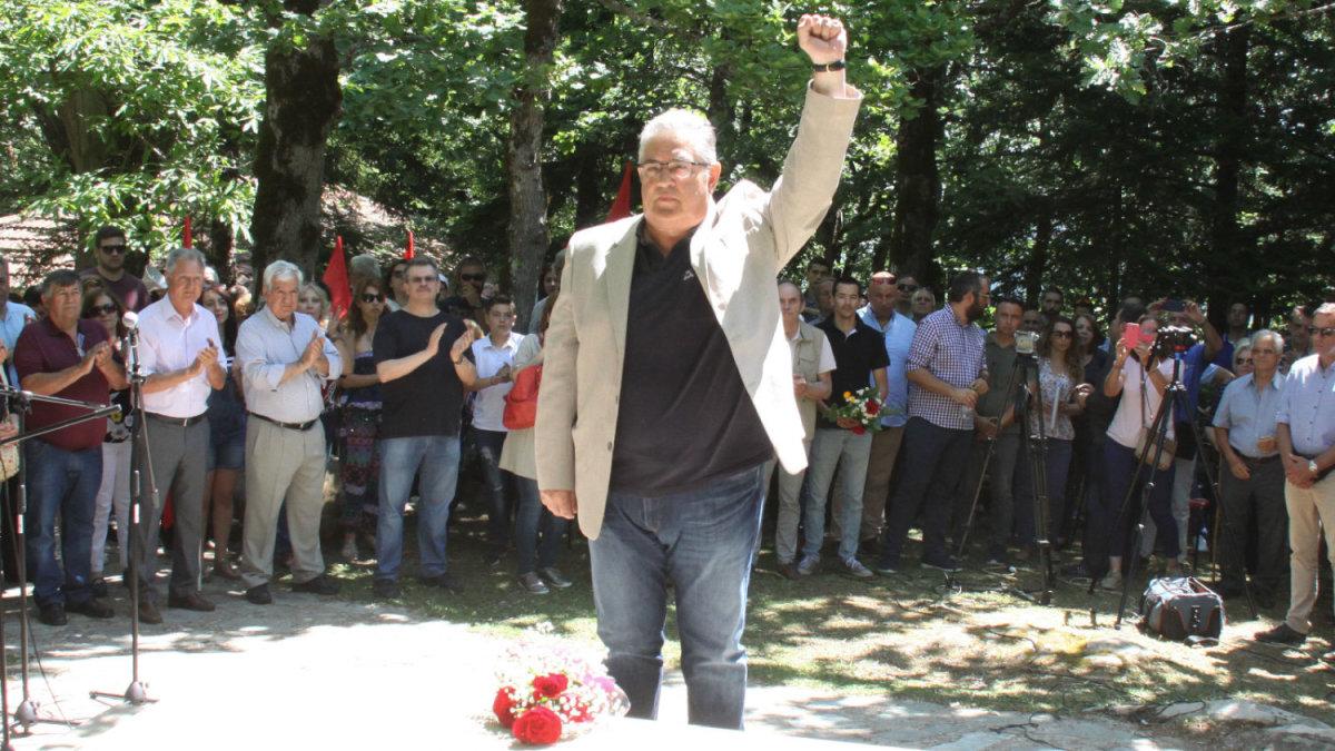 Σε κλίμα συγκίνηση το πολιτικό μνημόσυνο του Χαρίλαου Φλωράκη