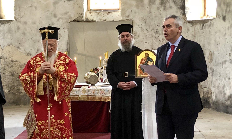 Μ. Χαρακόπουλος - Οικουμενικός Πατριάρχης