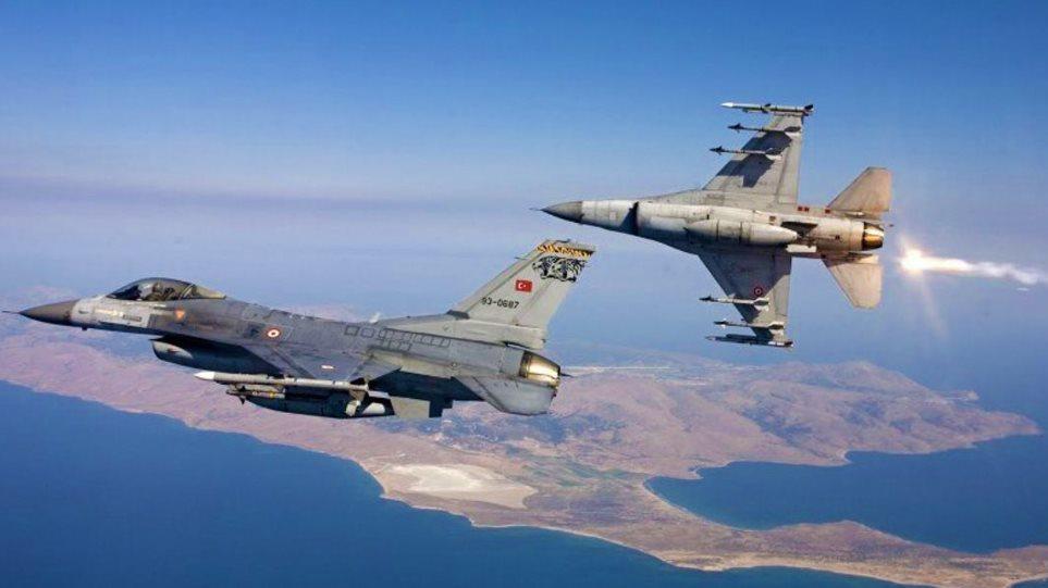 Παραβιάσεις τουρκικών f-16