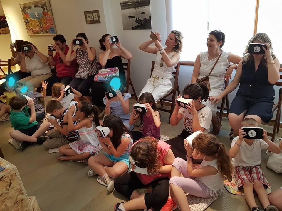 Οικογενειακό πρόγραμμα – Virtual Reality στο Λαογραφικό